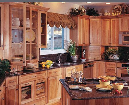 Omega Cabinetry Brand Review | Country kitchen cabinets
