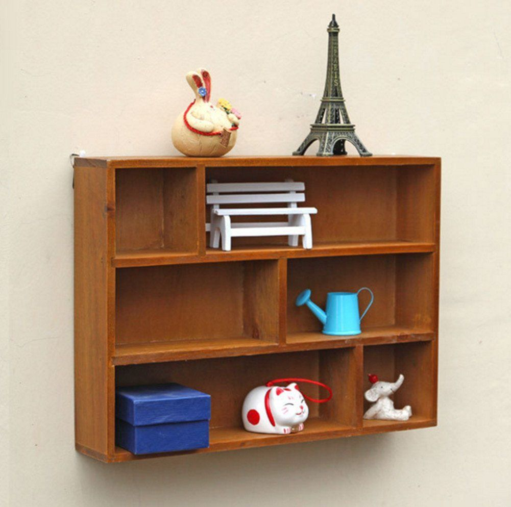 Lovely Wall Mounted Media Storage Cabinet