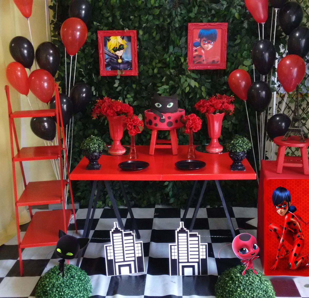 Kit De Display Miraculous Ladybug Decoracao Festa Junina