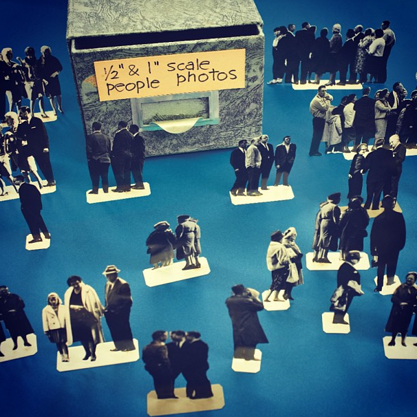 People to Scale for Achitectural Models