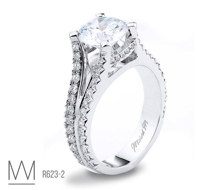 Michaelm Engagement Rings Exclusively At Capri Jewelers Arizona