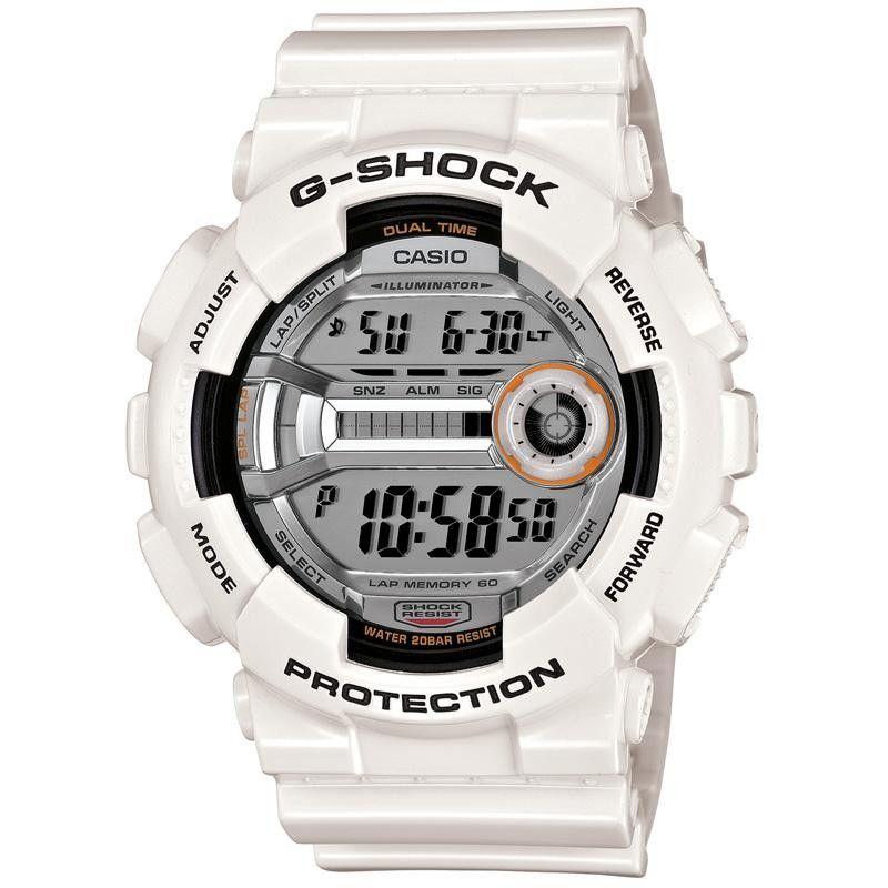Casio G Shock Gd 110 7er Watch White Mens Watches Casio Classic Watches Men Casio G Shock