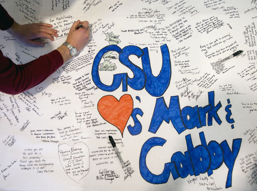 Speaker Series Georgia State University Students Wrote Mark Kelly