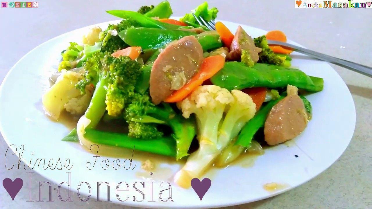 Resep Capcay Stir Fry Veggies Indonesian Style Chop Suey Veggie Stir Fry Veggie Fries Chop Suey
