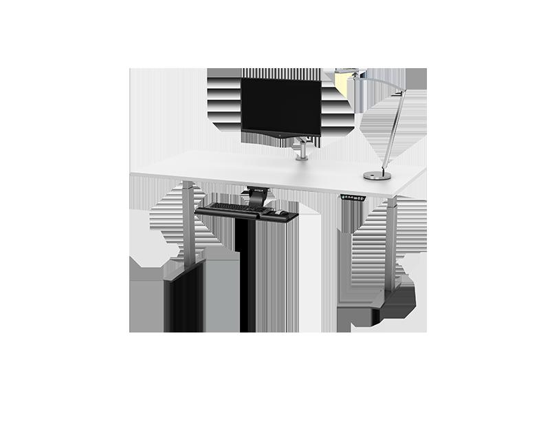 Premium Table Base 2E C60 24 Tables ESI Ergonomic Solutions - telescoping table legs