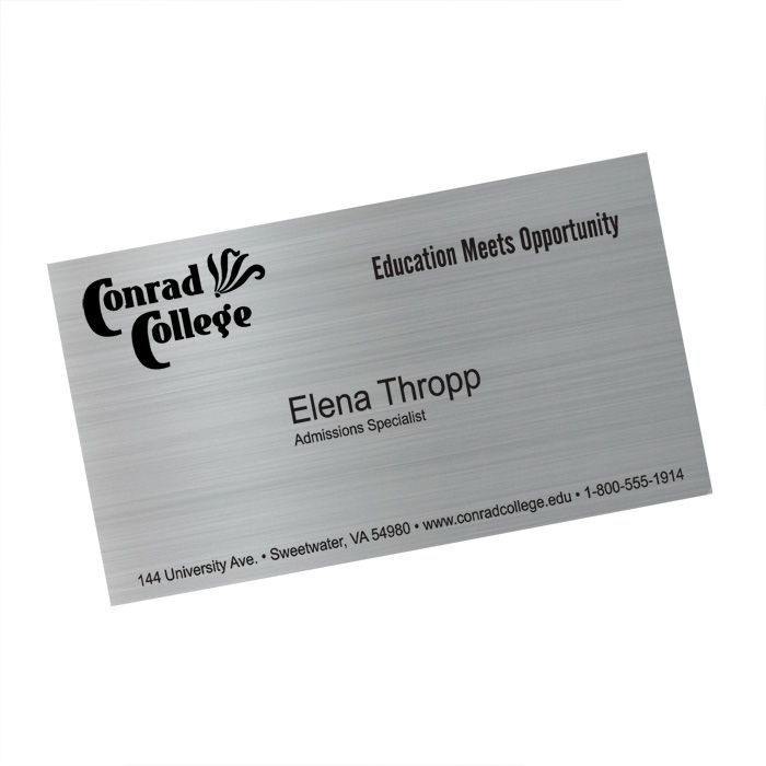 display | Metallic Business Card Magnet (Item No. 118784) from ...