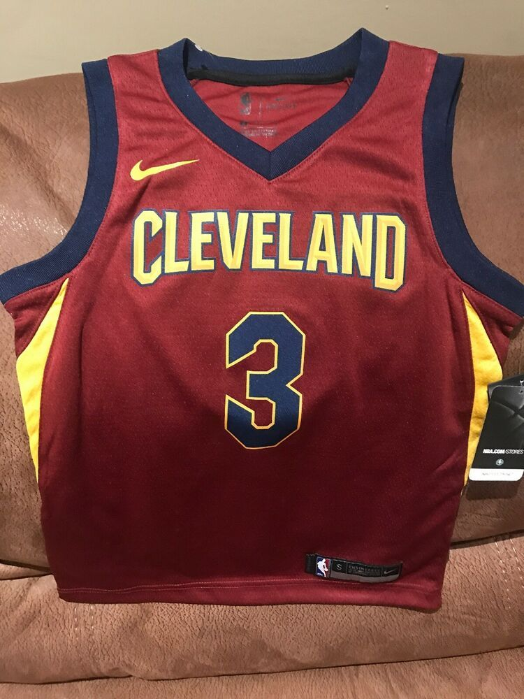 buy online 18525 be33a Details about Nike Cleveland Cavaliers Isaiah Thomas #3 ...