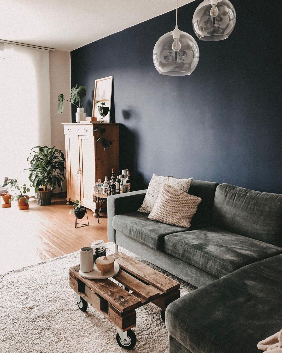 MIRA-MIRROR.COM (@miiramirror) • Wohnzimmer Living Room - Blue
