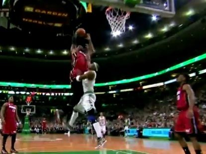 Poster Time Lebron James Dunks On Jason Terry Lebron James Dunking Jason Terry Lebron James