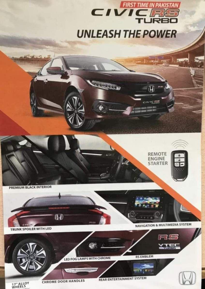 Honda Atlas Pakistan All Set To Launch Facelift Civic X Honda Civic Facelift Fairwheels Honda Civic Facelift Honda
