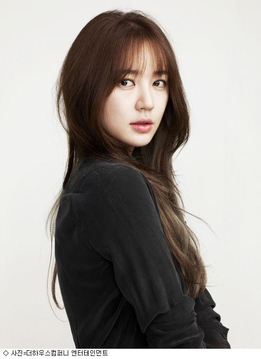 ユン ウネさん ネット記事画像 韓国人の髪 前髪ありヘア
