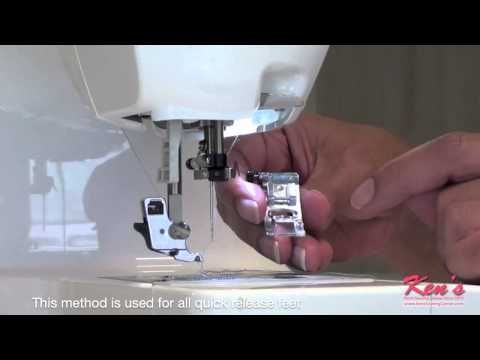 ▷ Brother SA40 Rolled Hem Foot Demonstration YouTube Sewing Fascinating Rolled Hem Foot For Brother Sewing Machine
