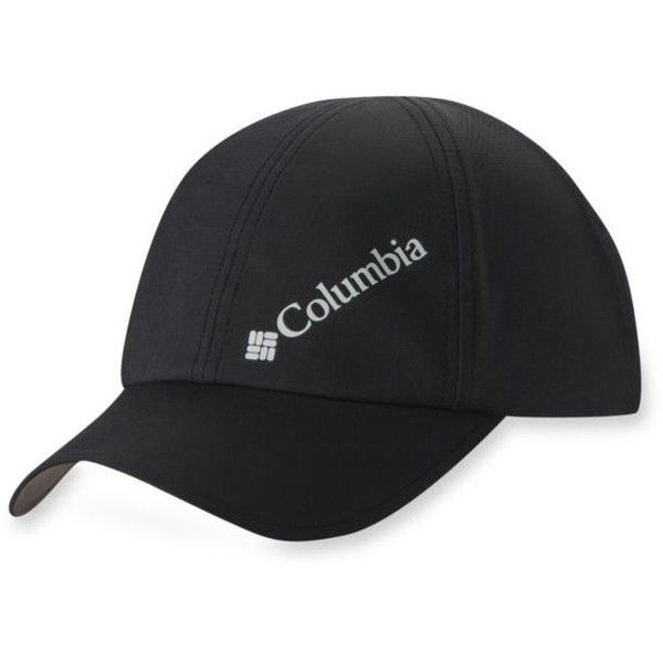 Columbia Black W Silver Ridge Ball Cap - Women s ( 11) ❤ liked on Polyvore  featuring accessories 8d76f3dd162