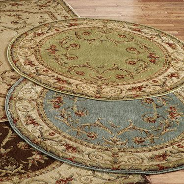 Kamari Round Area Rugs Touch Of Class Com With Images