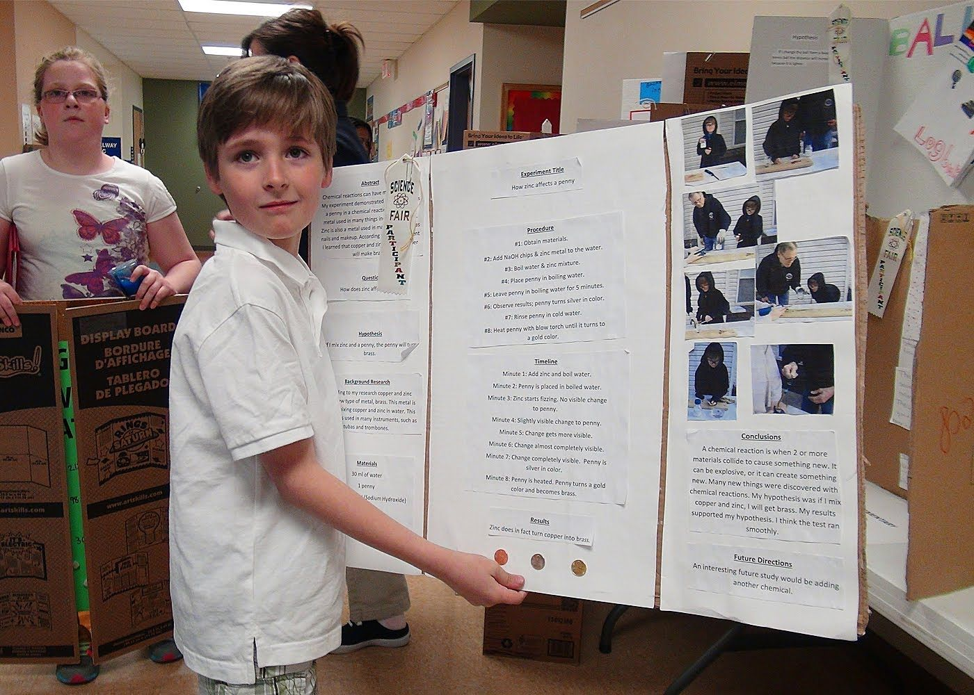 Elementary Students Science Fair | Science fair, Science ...