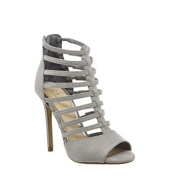 Office Tallulah Strappy Womens High Heels Grey Online