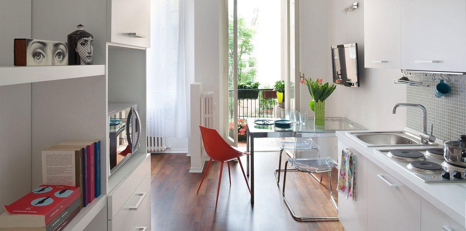 Monolocale 28 Mq Ben Sfruttati Monolocale Design Appartamento