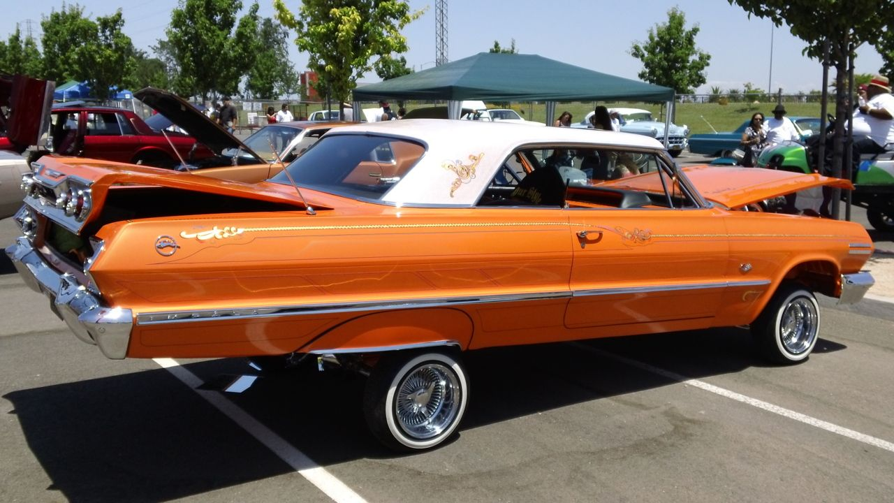 1963 Chevrolet Impala Lowrider With Images Lowriders