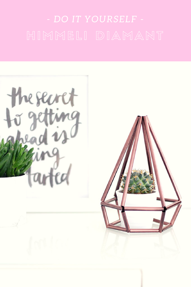 do it yourself: himmeli diamant als deko für dein zuhause   dinge