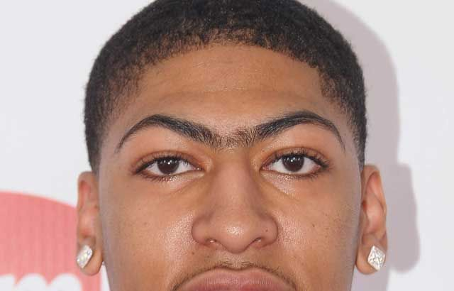 A Giant Anthony Davis Unibrow What You Need An Anthony