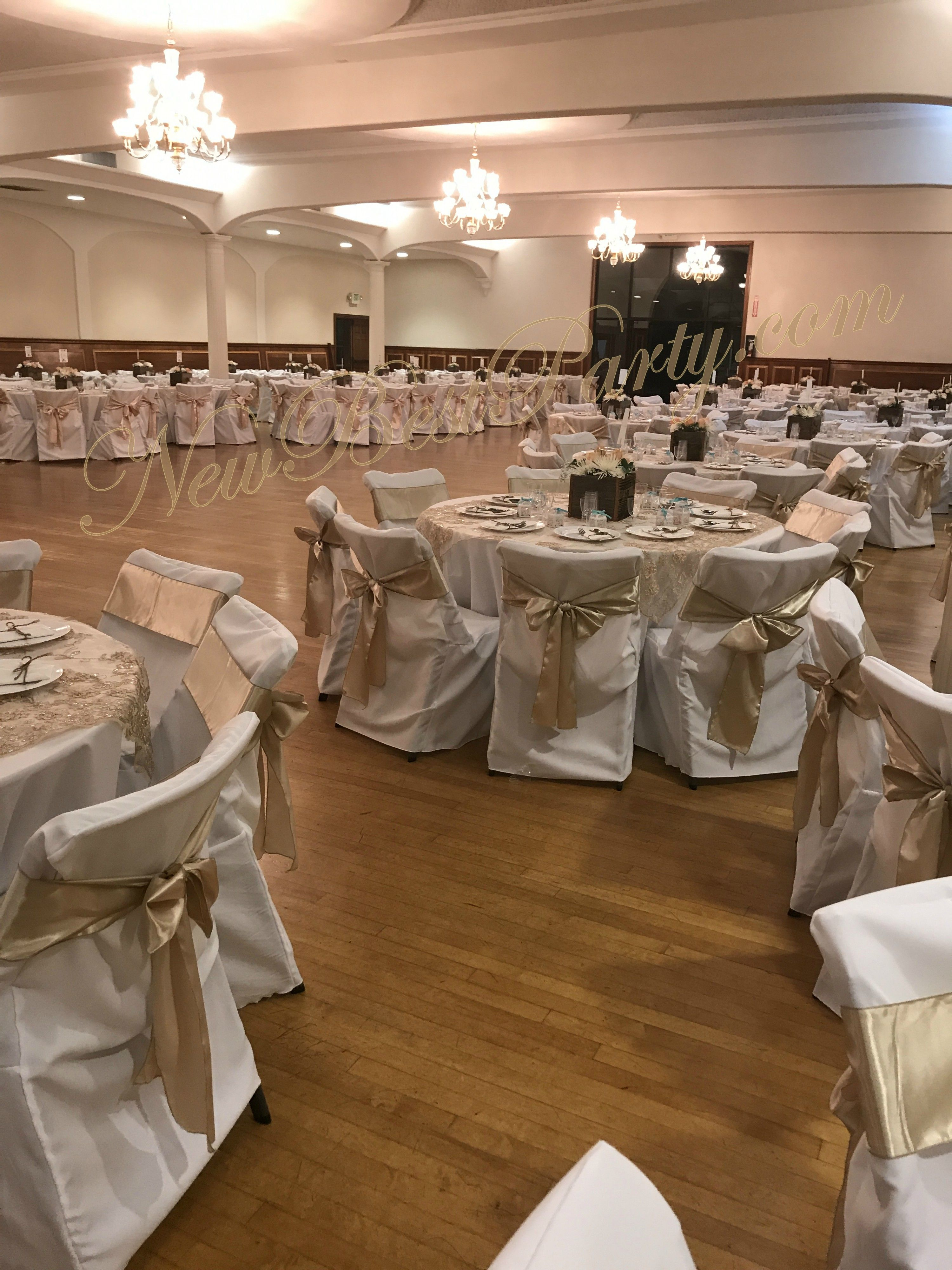 565de38d6ad5ad Champagne Linen nice   elegant color ideal for Weddings. Chair Covers