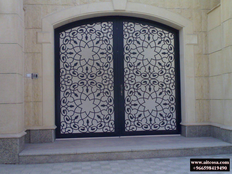 Pin By Aitco On ابواب خارجية Door Design Iron Door Design Ceiling Design