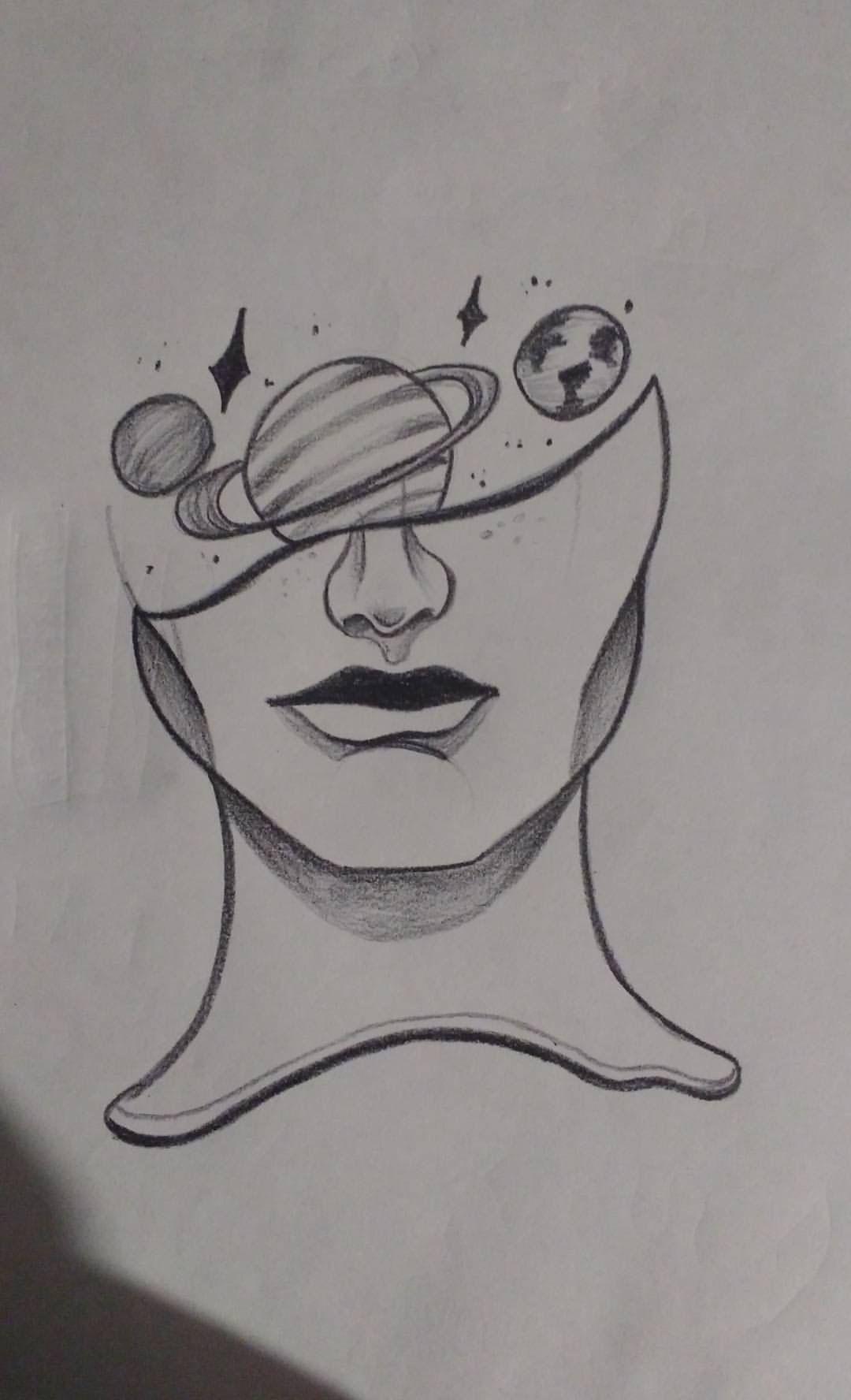 нравится тема космоса в голове Coisas Simples Para