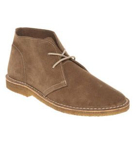 Ask The Missus Cookie Desert Mens Boots Beige Suede 7162385198