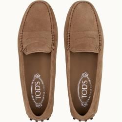 Photo of Tod's – Gommino Moccasins in Suede, Brown, 42 – Shoe …