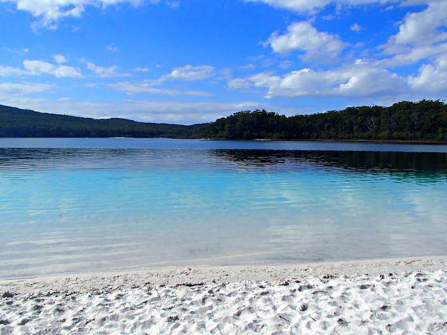 Lake McKenzie, Fraser Island, Australia #lakemckenzie #fraserisland #queensland #australia #travel