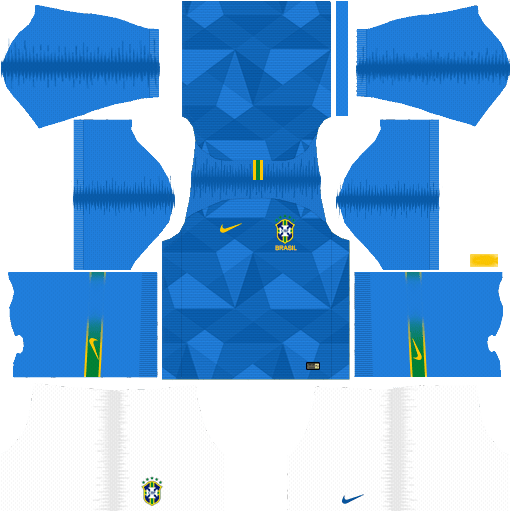 Dream League Soccer Kits Brazil 2018 World Cup Kit And Logo Url In 2020 World Cup Kits Soccer Kits Brazil World Cup