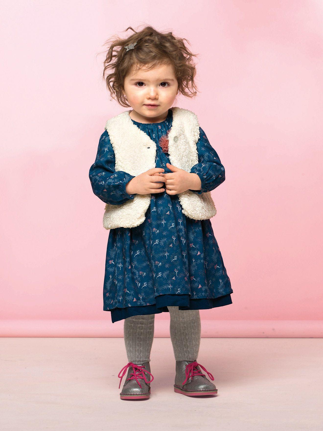 Gilet sans manches bébé fille imitation fourrure Collection