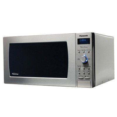 Panasonic Prestige NN-SD997S, 2.2cuft 1250 Watt Sensor Microwave Oven, Stainless Steel for $235.15