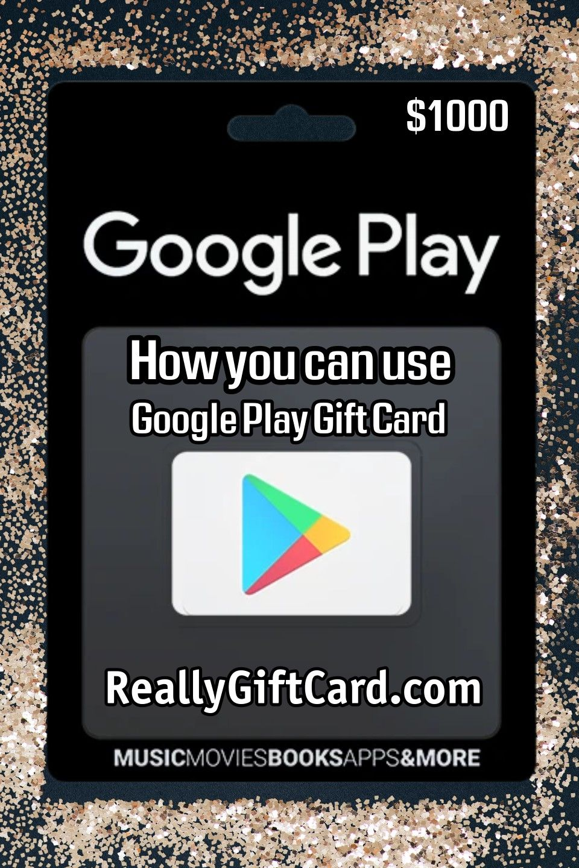 Pin on Google Play Gift Card 2020