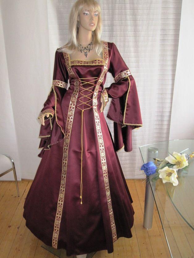 Mittelalter*Brautkleid*Maßanfertigung*Hochzeit*   Modestil