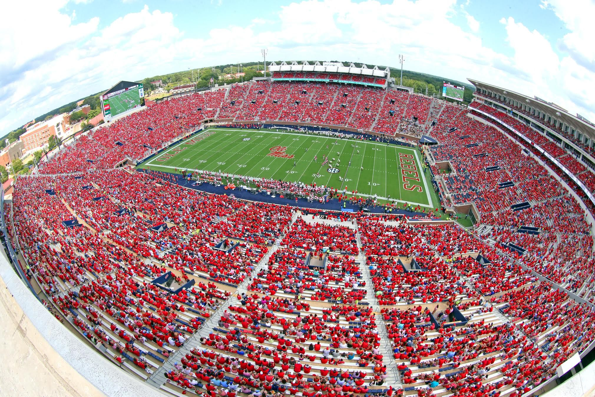 19 Ole Miss Football vs Wofford in the home opener of the