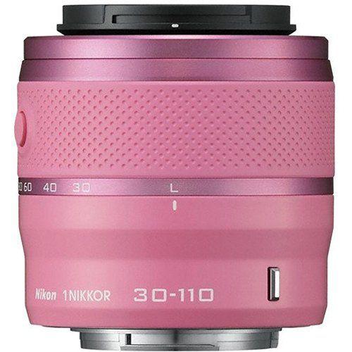 Nikon 1 30 110mm F 3 8 5 6 Vr Nikkor Lens Pink White Box Digital Camera Lens Nikon Lens
