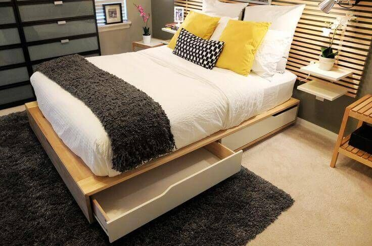 21 Best Space-Saving Design Ideas for Small Bedrooms ...