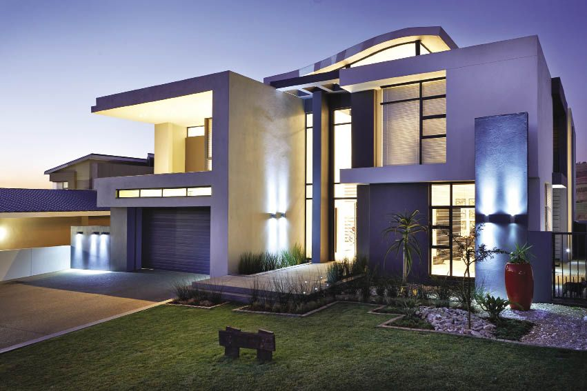The Eye Of Africa Golf Residential Estate In The South Of Johannesburg Is A House Plans South Africa Flat Roof House Designs Modern Exterior House Designs