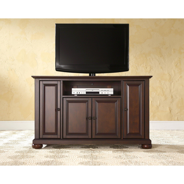 Crosley Furniture Alexandria Vintage Mahogany 48 Inch Tv Stand