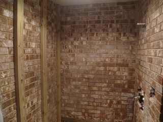 Photo Gallery On Website Tile showers brick walk in shower Google Search