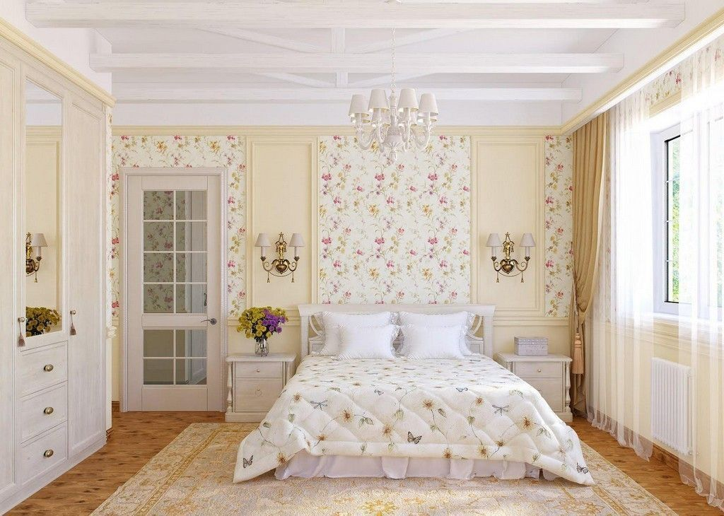 30 Spring Bedroom Decor Ideas With Floral Theme