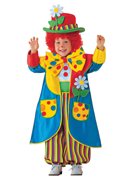 Clown Kostum Kinder Zirkus Clown Kinderkostum Gunstig Clown