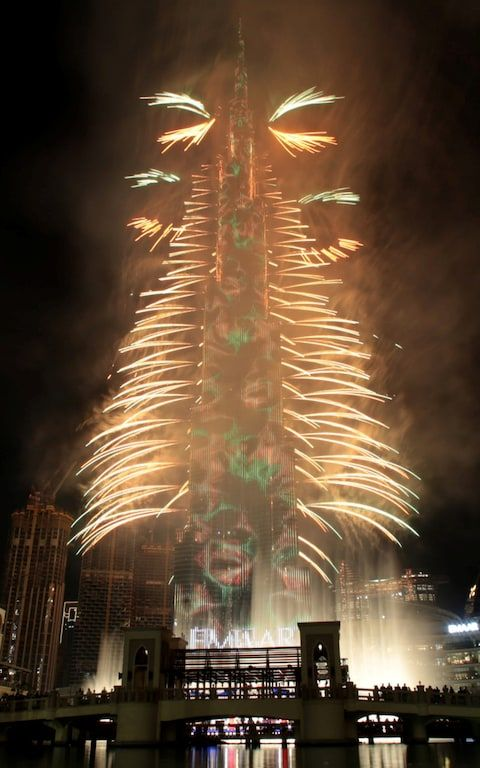 New Year's Eve 2020 celebrations and fireworks around the