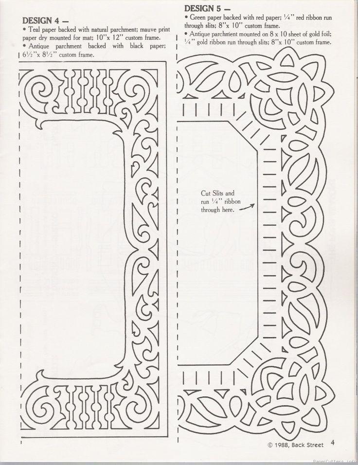 Printable papercutting templates - Bing Images Paper Cutting - paper design template