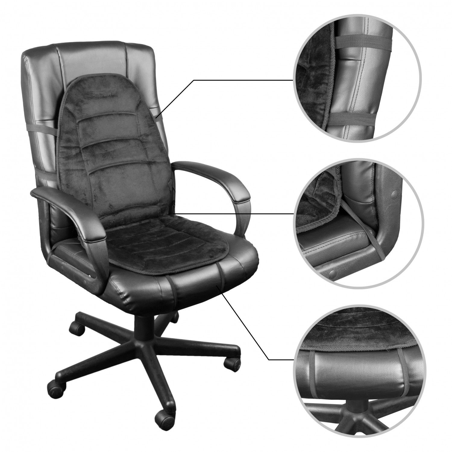 Heated Desk Chair Pad Heated Seat Covers