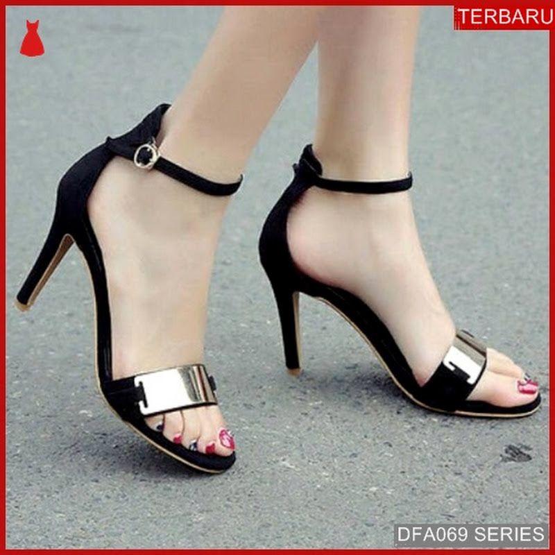 Dfa069d43 Dd01 Sandal Heels Anindya Wanita High Dewasa Hils Suede