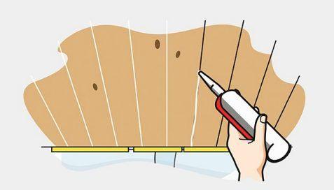 holzdecke streichen auf zeigen wir dir schritt f r schritt wie du deine holzdecke. Black Bedroom Furniture Sets. Home Design Ideas