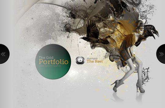 50 Creative Use Of Large Background Images In Web Design Diseno Web Disenos De Unas