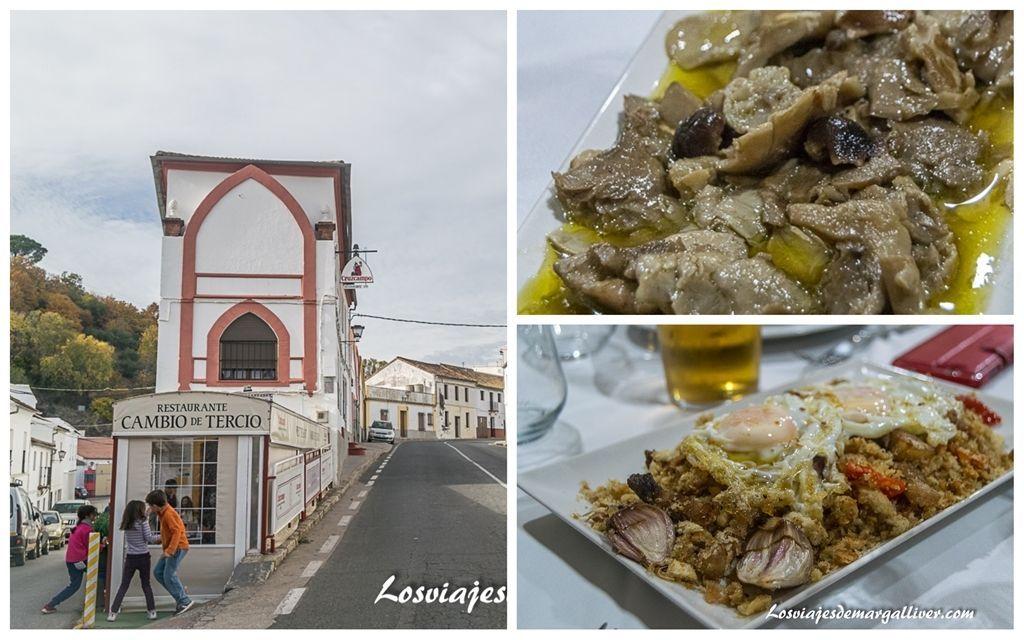 Gastronomia Del Restaurante Cambio De Tercio En Constantina
